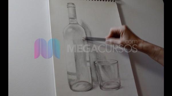 Descubra técnicas de dibujo de materiales translúcidos
