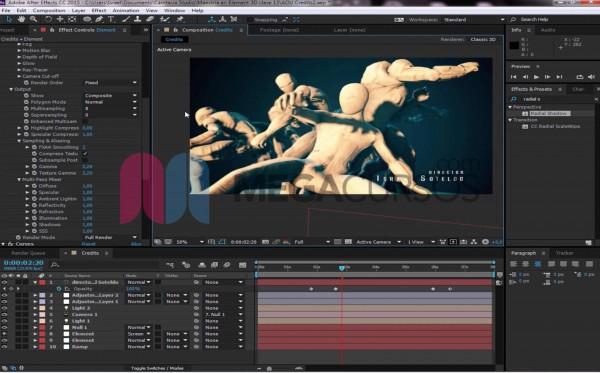 After Effects - Proyecto Animación artística 3D