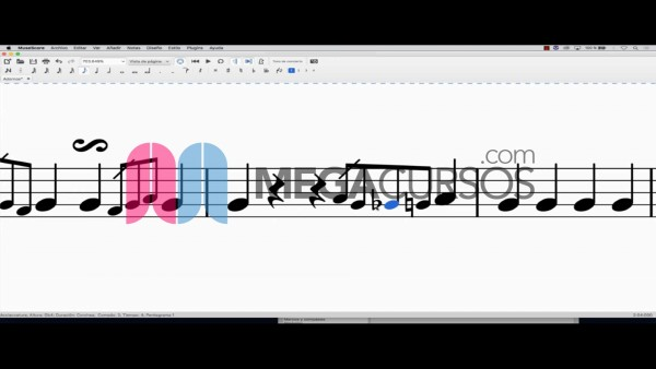 Aprende signos avanzados y escritura compleja de música