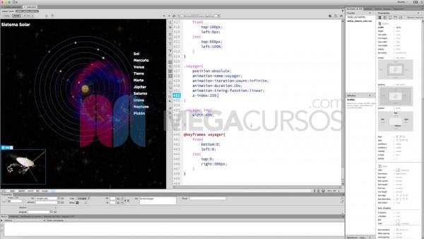 Crea páginas web interactivas totalmente animadas en HTML5