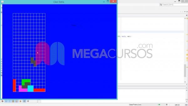 Diseña y programa un juego Tetris