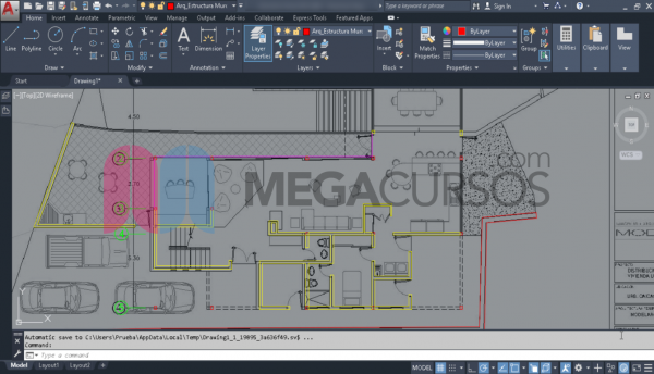 Entorno de AutoCAD. Iniciación al dibujo