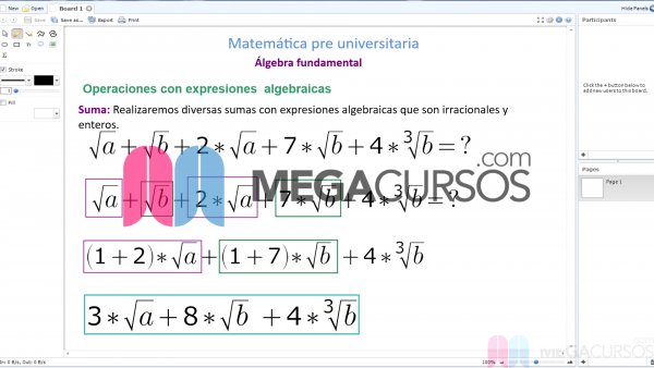 Introducción al algebra fundamental. Parte C