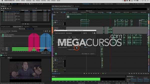 Mejora tus ediciones de vídeo con Audition