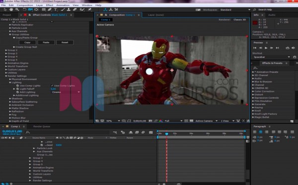After Effects - Proyecto Ironman