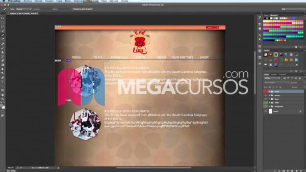 Aprende a usar Photoshop para el diseño web