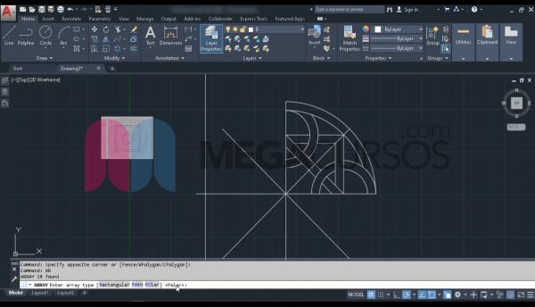Procesos de dibujo, modificación y visualización III