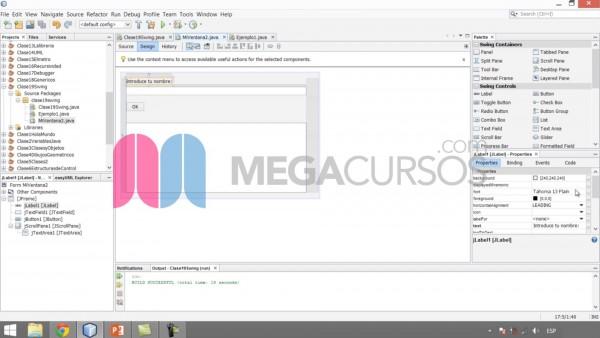 Aprende a crear interfaces gráficas (ventanas) para tus programas