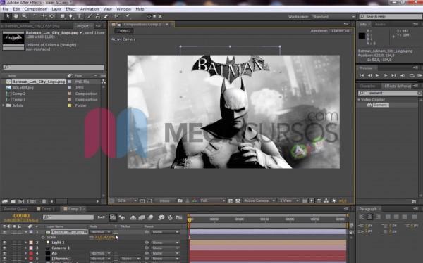 Proyecto Batman oscuro