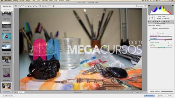 Aprende a trabajar y retocar imágenes RAW