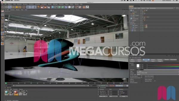 Integra objetos 3D en escenas reales y haz que sombras y reflejos sean realistas