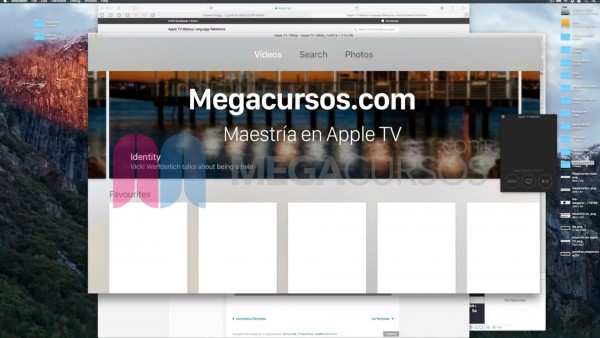 Crea aplicaciones multipestaña (Apple TV)