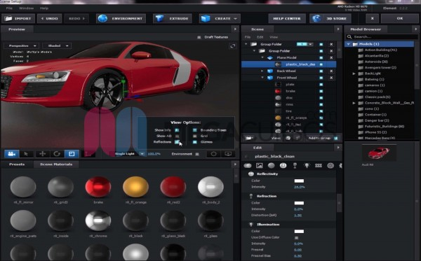 After Effects - Proyecto Audi R8
