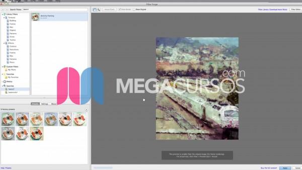 Aplica filtros artísticos avanzados