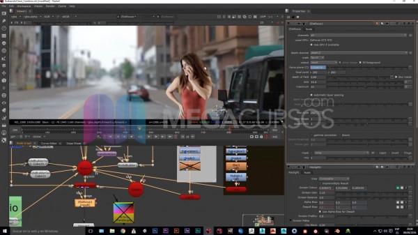 <p>Nuke - Crea proyecciones para poder convertir a entornos 3D imágenes planas</p>