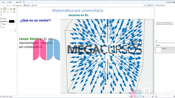 Origen y representación de los vectores. Parte A