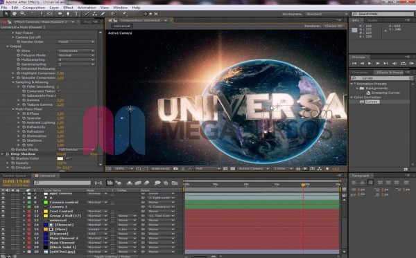 After Effects - Proyecto Título Universal
