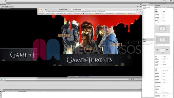 Crea animaciones usando estándares web y técnicas como zindex