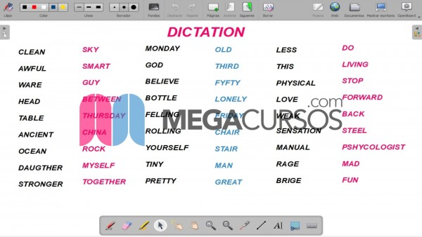Dictation Class. 2