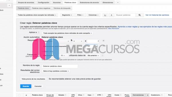 (Google Adwords) Utiliza automatización para publicidad dinámica