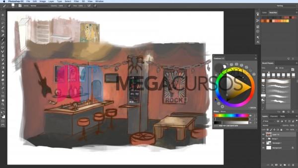 Practica la perspectiva, color y textura en escenas increíbles desde 0