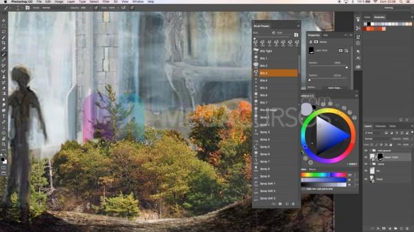Matte painting con Ps - Incrusta vegetación en tus imágenes de forma realista