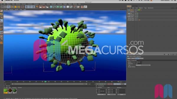 Usa MoGraph para duplicar de forma avanzada objetos