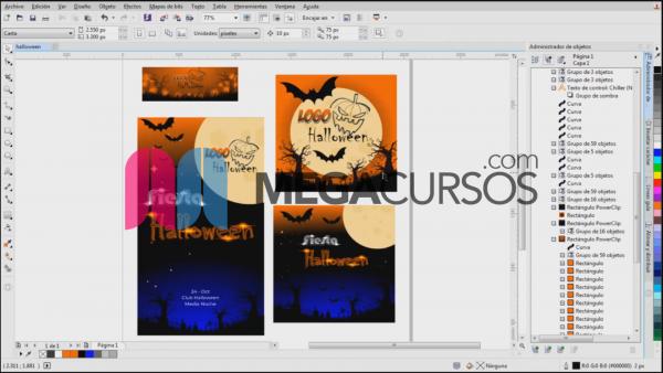 Crear imágenes para redes con la temática de Halloween