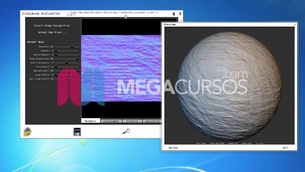Descubre las técnicas de  mapas UV y texturas con relieve