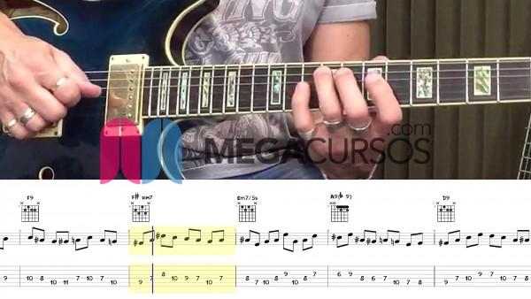 Blues - jazz estudio sobre arpegios - sustituciones - improvisación
