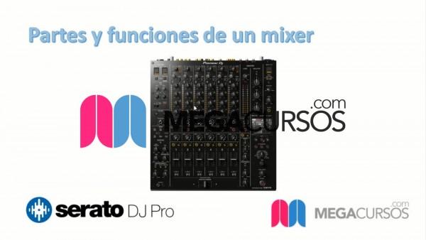 Partes y funciones del mixer. Parte A