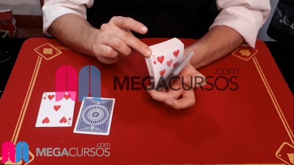Dejando caer cartas o drible