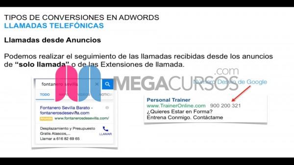 (Google Adwords) Comprende todos los tipos de anuncios y conversiones