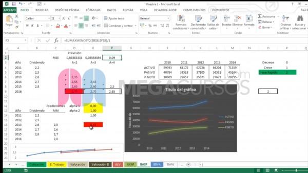 Combina todas las herramientas de Excel para conseguir análisis extremos