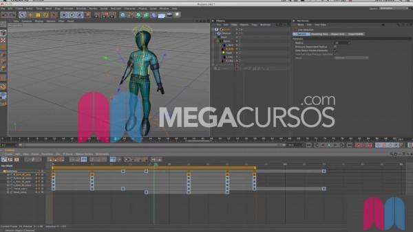 Aprende a animar el cuerpo de personajes a partir de rigging