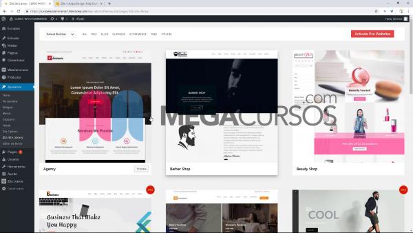 WordPress - Crear tienda con plantilla