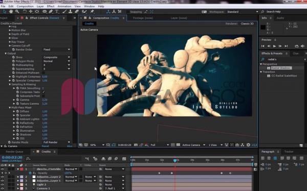 Proyecto Animación artística 3D