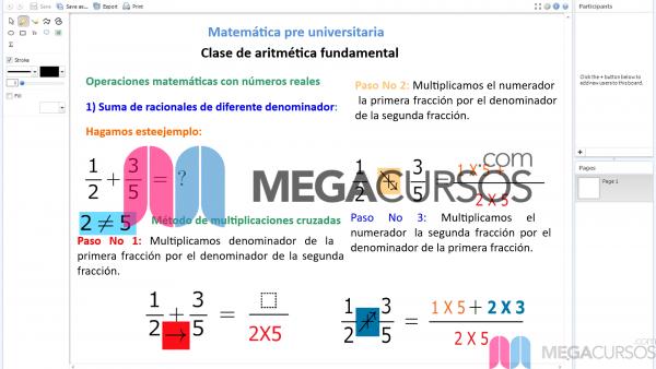 Operaciones en la aritmética fundamental. Parte C