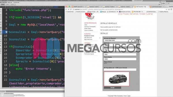 Crea una web de subastas totalmente funcional