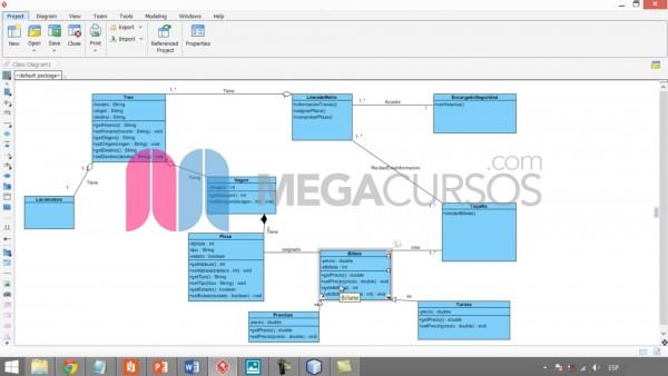 Aprende a usar diagramas visuales para crear una aplicación de gestión del Metro de Madrid
