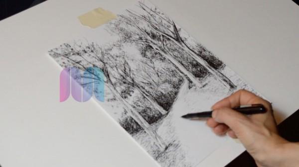 Aprende a dibujar a bolígrafo