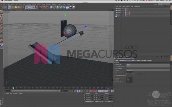 Cinema 4D - Vuélvete un experto en animaciones físicas