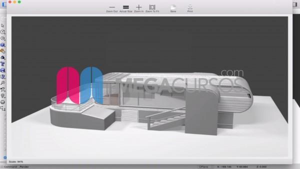 Arquitectura - Villa futurista