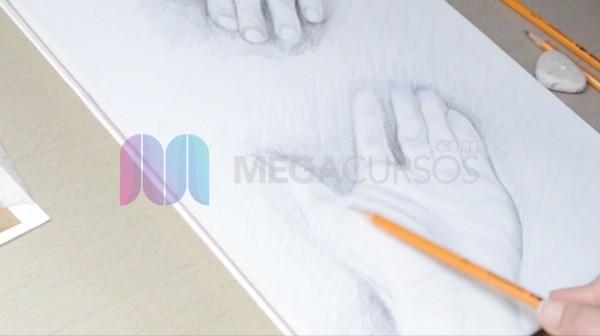 Dibuja con corrección las partes del cuerpo humano