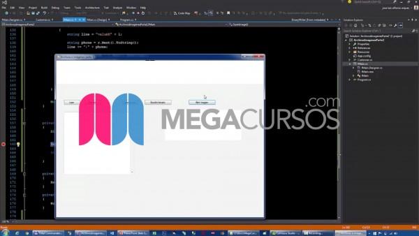 Diseña un lector de archivos que muestre las imágenes seleccionadas