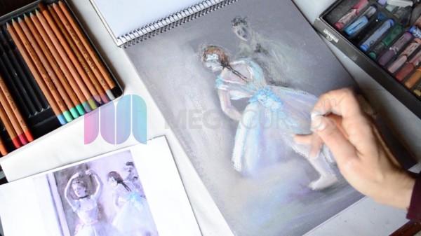 Dibujo y pintura - Realiza dibujos de todo tipo con distintas técnicas como carboncillo, témperas, etc