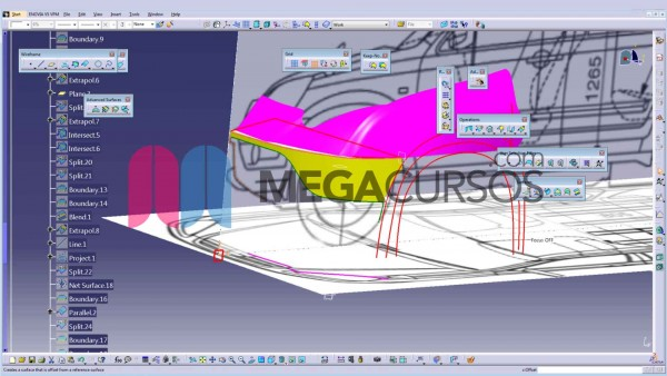 Veremos cómo modelar un coche a partir de los blueprints y otras herramientas de Freestyle
