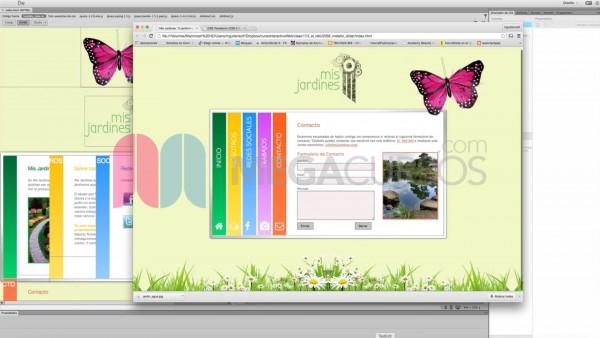 Crea galerías y páginas animadas con efectos slider