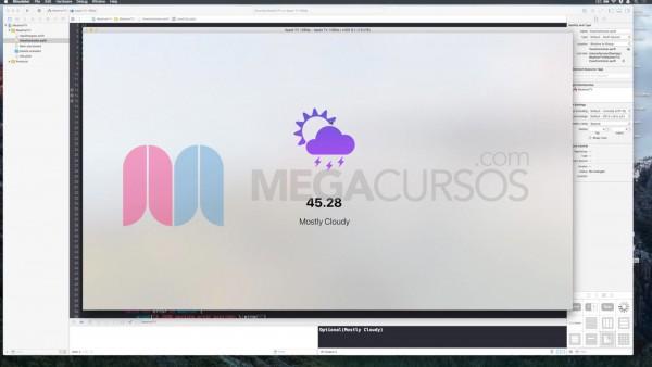 Diseña y pon a punto una app de metereología (Apple TV)