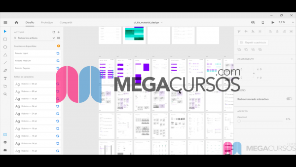 Analizando el diseño de cada pantalla